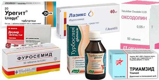 Таблетки от отёков при беременности